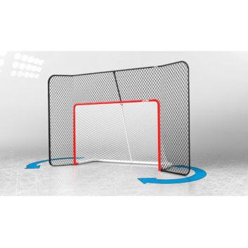 acon, acon wave, målbur, skyddsnät, bakgrundsnät, skotträning, hockey
