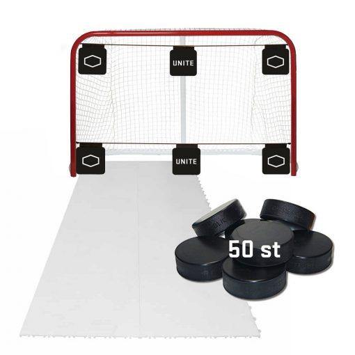 målbur, hockeymål, skotträning, skottramp